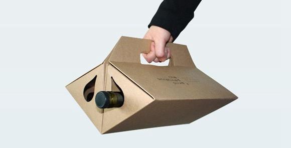 简单实用的红酒包装盒设计